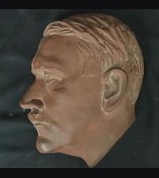 Meissen Foundry Hitler Profile 1/2 Life Terra Cotta # 2092