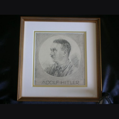 Adolf Hitler Artist Sketch- Albert Reich (1881-1942)  # 2093