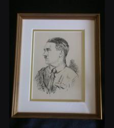 Adolf Hitler Artist Sketch- Albert Reich (1881-1942) # 2094