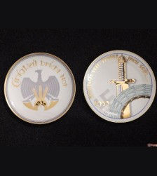 Rare Transitional Thomas Bavaria N.S 1932-1933 Plates- Erich Haselhuhn # 2097