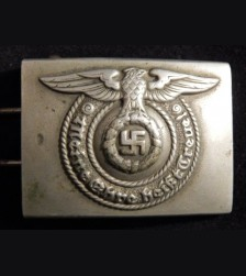 O & C Early Nickel SS Belt Buckle  # 2099