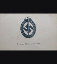 Coburg Christmas/Weihnachten Card # 2109