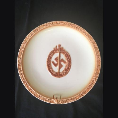 Coburg 15th anniversary Plate- Rare # 2111