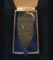 Boxed Nuremberg Table Medal- Bronze # 2115