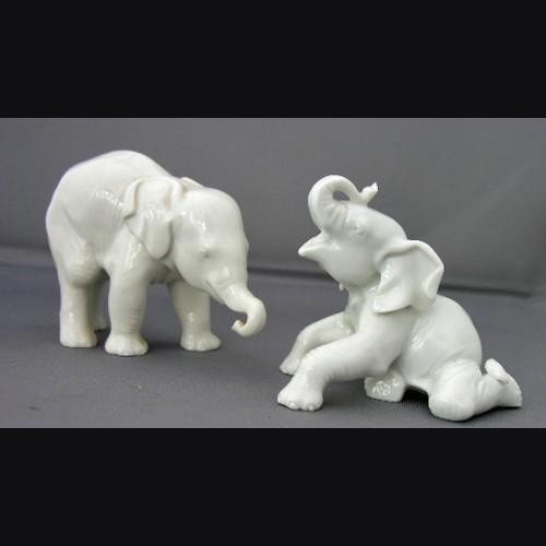 3-Model #3 Standing Elefant Allach # 378