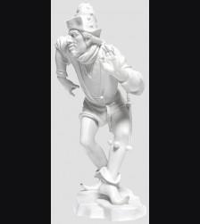 Model #136 Der Dolchtraeger/The Dagger Bearer Allach # 489