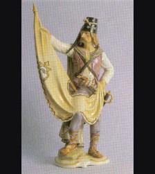 Model #141 Fahnentraeger der Panduren Allach # 501
