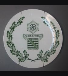 Meissen Plate/ Landespolizei # 573