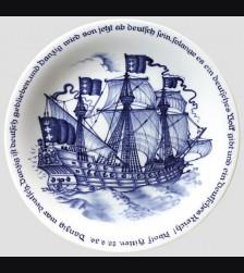 Meissen Danzig Commemoratice Plate # 587