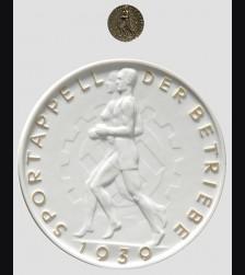 Allach Award Plaque/ Plakette zum sportappel 1939 # 588