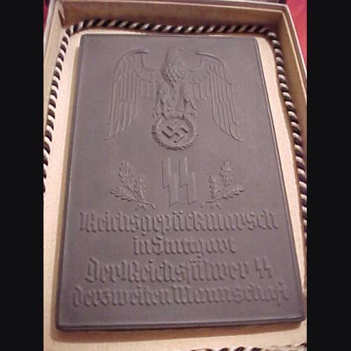 Allach Award Plaque/ Plakette Reichspackmarsch in Stuttgart  # 590