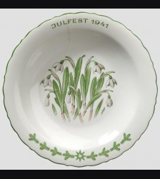 Oswald Pohl Commercial Julfest Plate 1941 # 594
