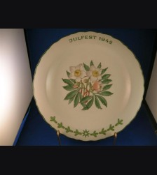 Oswald Pohl Commercial Julfest Plate 1942 # 595