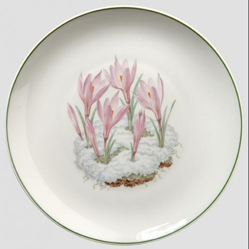 Oswald Pohl Commercial Julfest Plate 1943 # 596