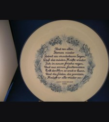 Oswald Pohl Commercial Julfest Plate 1944 # 597