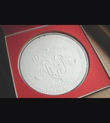 Allach Award Plaque/ I Preis-Plakette im Blumenschmuckwettbewerb Munchen 1938 # 608