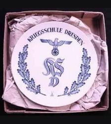 Meissen Kriegsschule Dresden Plate # 629