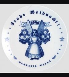 Rosenthal Weihnachten Plate 1940 # 637