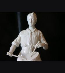 Allach Porcelain: Hitler Youth Drummer  # 640