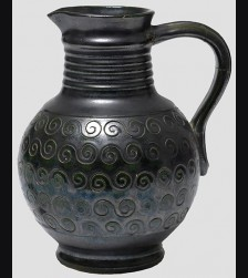 K-31 Water Vase in Black # 653