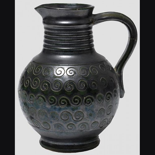K-31 Water Vase in Black # 653