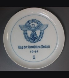 Meissen  Police Plate 1941 # 661