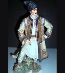 Model #192 Unrecorded Peasant Male ( Romanian Garb) # 673