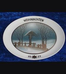 Rosenthal Weihnachten Plate 1927 # 680