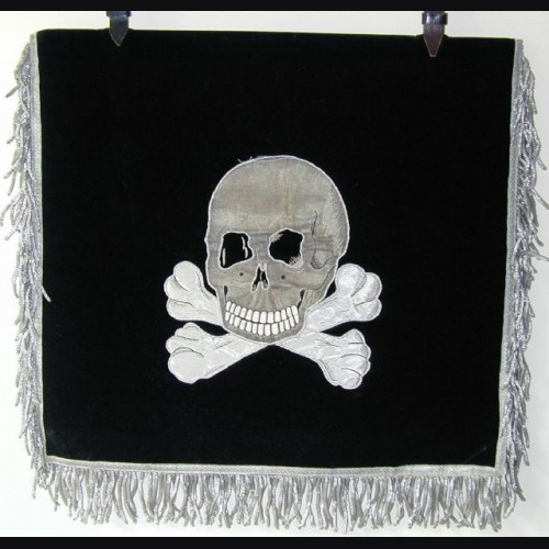 Allgemeine SS Trumpet Banner  # 700