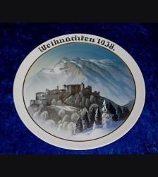 Rosenthal Weihnachten Plate 1938 # 715