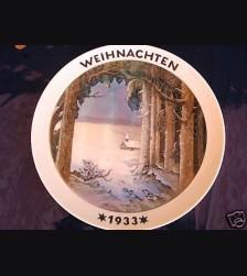 Rosenthal Weihnachten Plate 1933 # 727