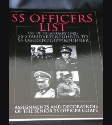 SS Officers List- Assignments and Decorations of the Senior SS Corps. Dientalterliste # 744
