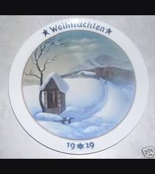 Rosenthal Weihnachten Plate 1919 # 749