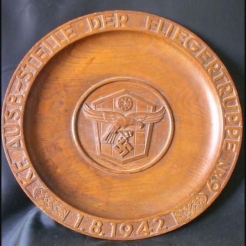 Luftwaffe Fliegertruppe Plate # 786