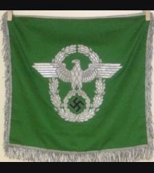 Deutsches Polizei Trumpet Banner # 802