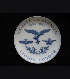 Meissen Legion Condor Plate # 821