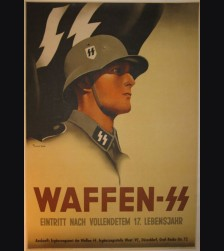 Waffen SS Recruiting Poster ( Anton ) # 852