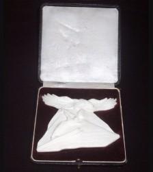 Cased Rosenthal Ski Award 1937 ( S.A ) # 877