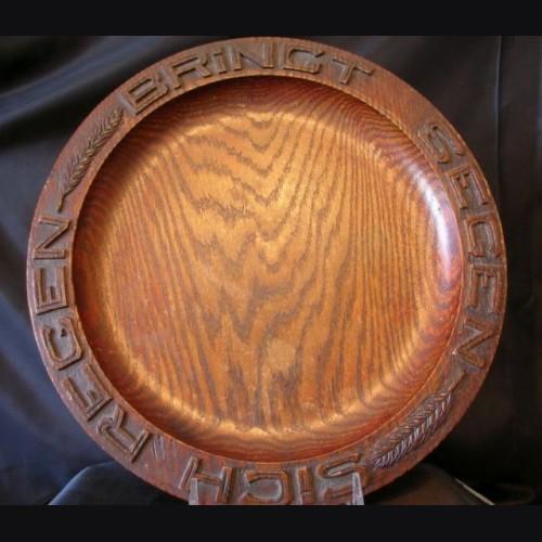 National Socialist Bread Plate # 892