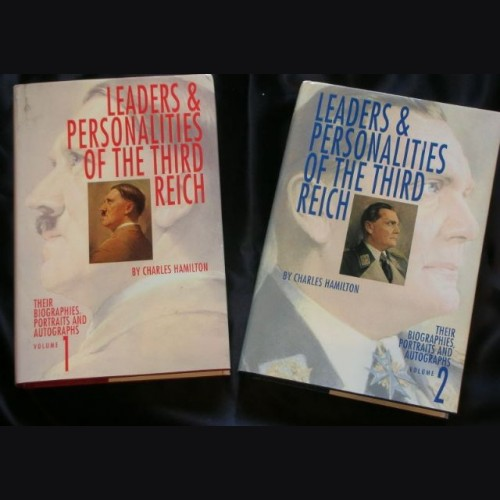 Leaders and Personalities of the Third Reich Vol 1-2 ( Hamilton ) # 905