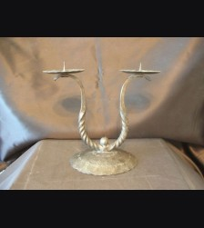 SS Wrought Iron Wedding Candle Holder # 960