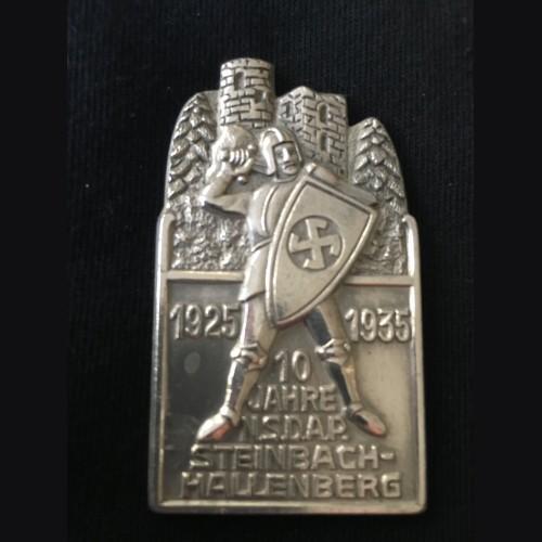 Presentation Table Medal-  S.A Gruppe Leader Gunther # 3058
